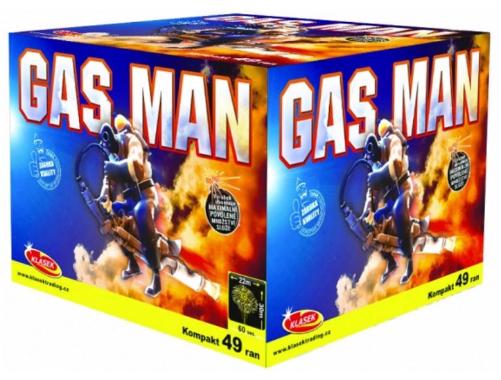 Baterie Gas Man