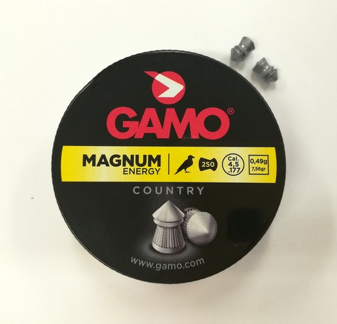 Diabolky 4,5mm Gamo Magnum Energy 250ks