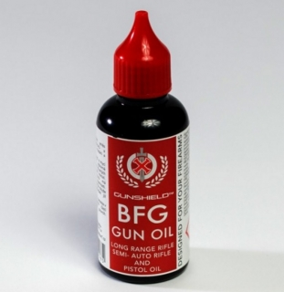 GUNSHIELD BFG GUN OIL 50ml kapátko