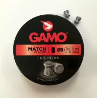Diabolky 4,5mm Gamo Match Classic 250ks