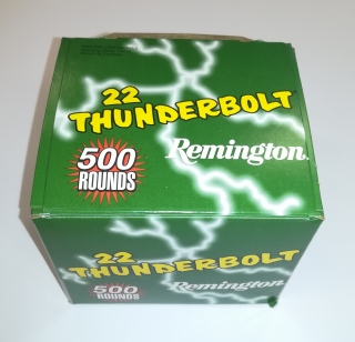 Náboj .22LR Remington HV THUNDERBOLT
